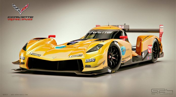 Corvette LMP1 rendered