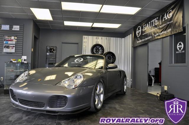 Modified Porsche 911 Turbo S