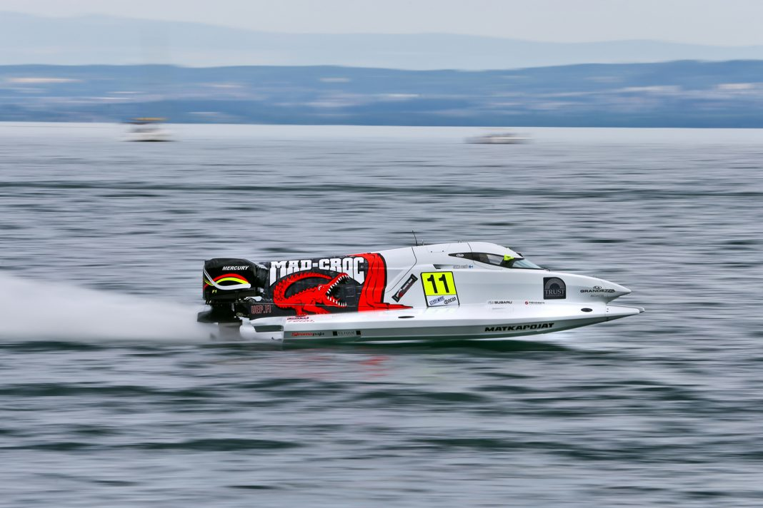 F1H2O Grand Prix of France, Evian 27th-28th June 2015, Sami Selio (11), Mad-Croc Baba Racing Team