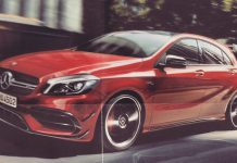 Facelifted Mercedes-Benz A45 AMG leaks