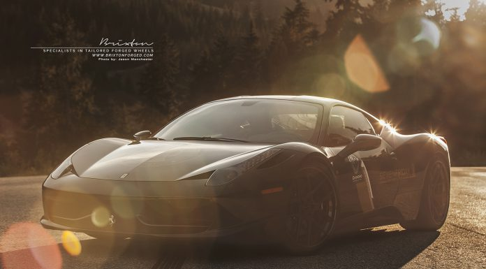 Gorgeous Ferrari 458 Italia with Brixton Forged wheels
