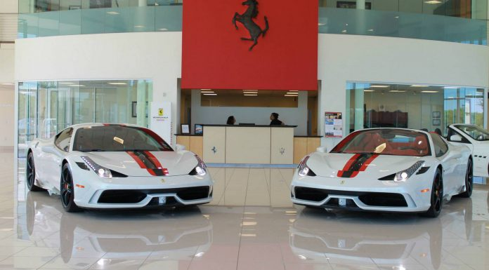 Matching Spec Ferrari 458 Speciale and Speciale A