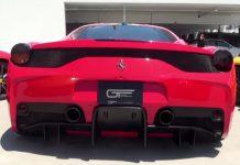 Ferrari 458 Speciale screams with Capristo exhaust