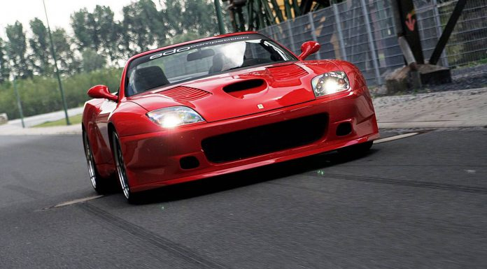 Ferrari 575 GTS front