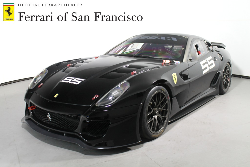 Sold Black Ferrari 599xx For Sale In San Francisco Gtspirit