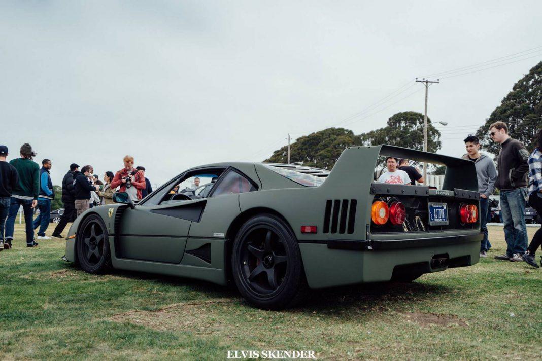 Ferrari F40 For Sale >> Matte Green Ferrari F40 in San Francisco - GTspirit