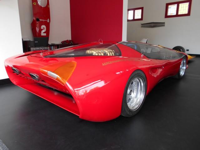 1989 Ferrari Testa D'Oro Colani Rear