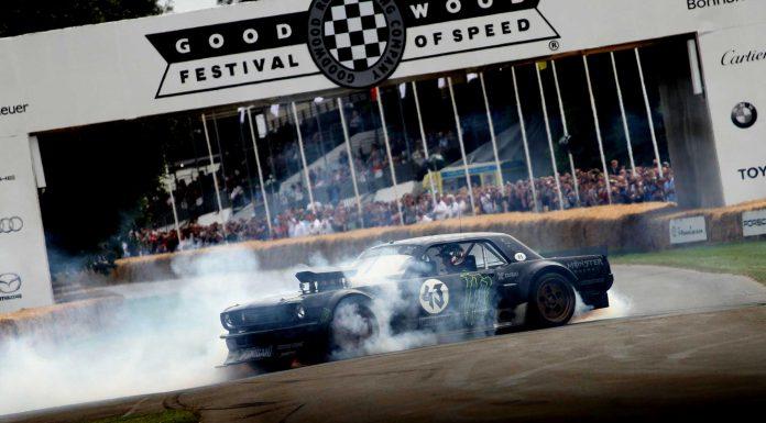 Ken Block Hoonicorn Mustang Goodwood Festival of Speed