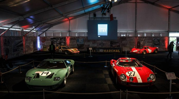 Ford and Ferrari at Le Mans 24 Hours