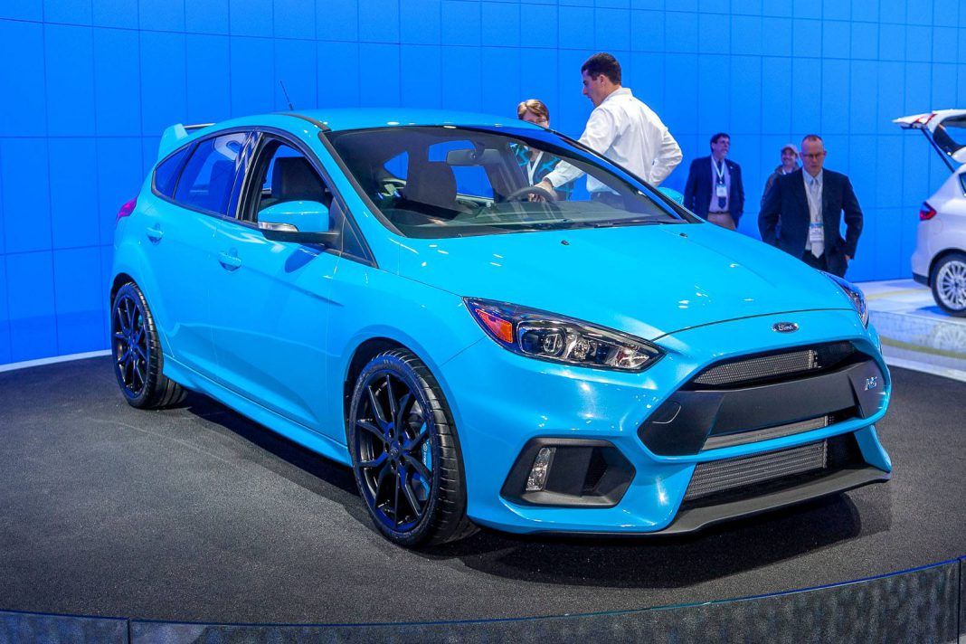 Now Confirmed, 2016 Ford Focus RS Packs 345hp!