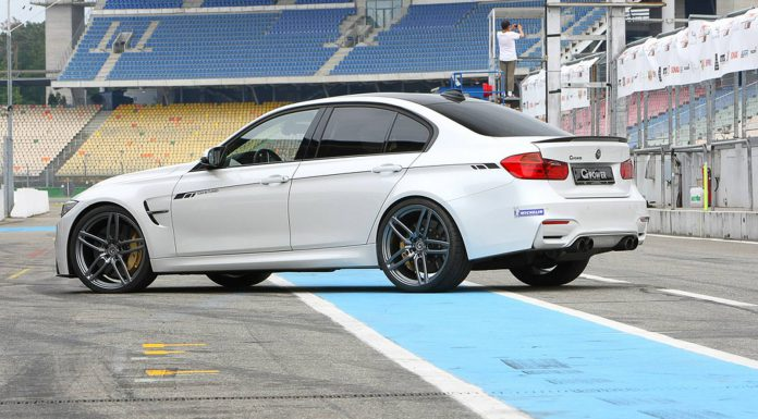 BMW M3 and M4 by G-Power rear