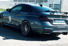 Hamann's potent BMW M4 screams!