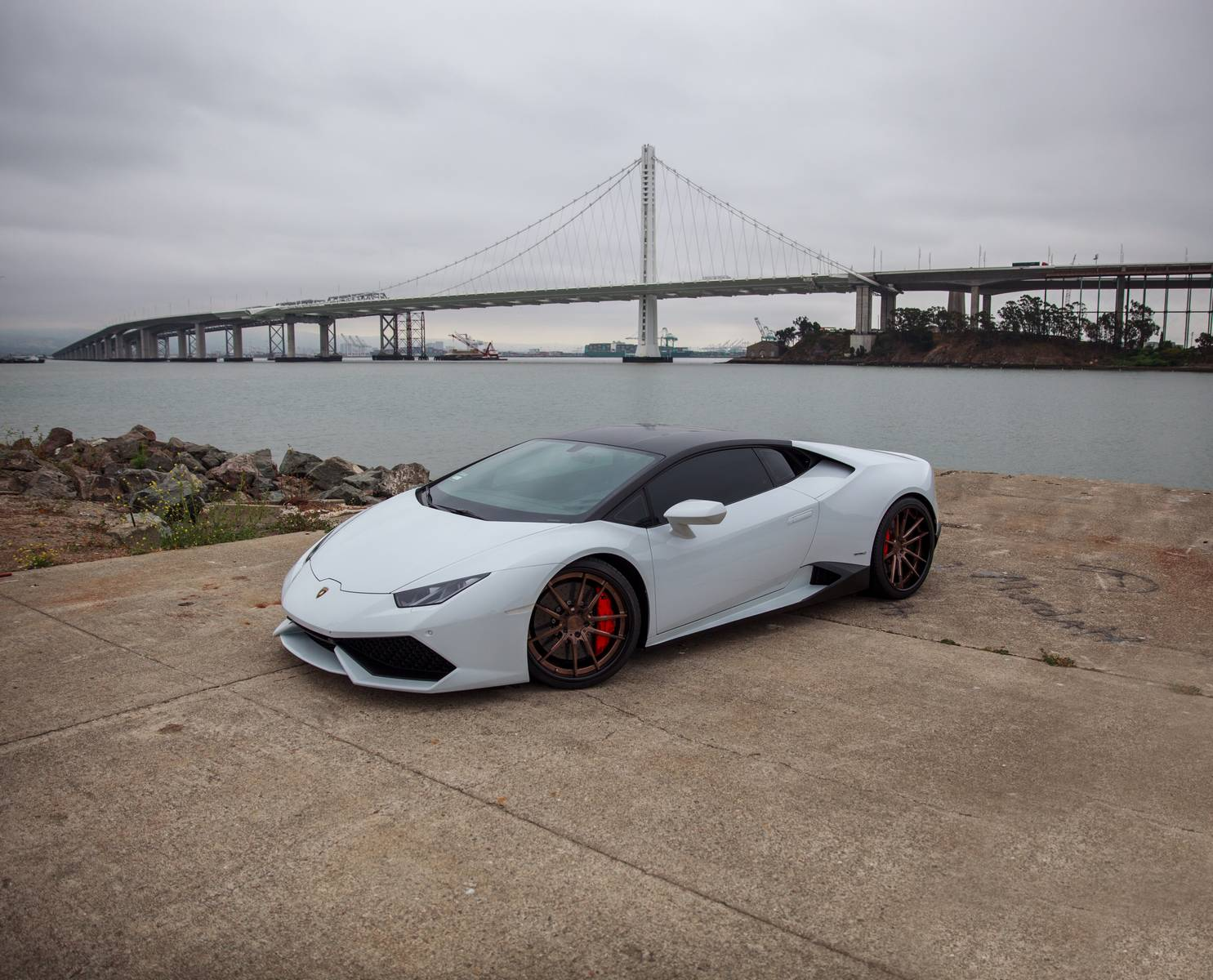 gidi chamdi lamborghini huracan - Lamborghini Huracan Matte White