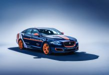 Jaguar XJR Bloodhound SSC Rapid Response Vehicle
