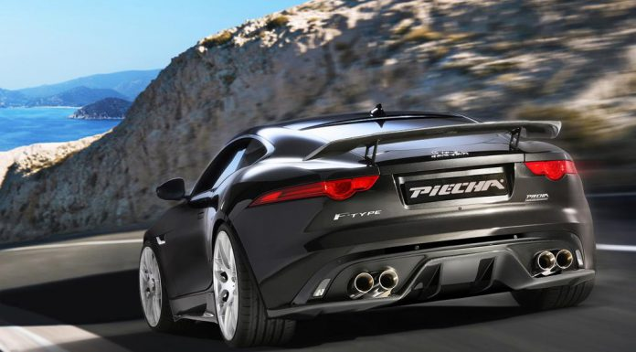 Jaguar F-Type R Coupe Piecha Design rear