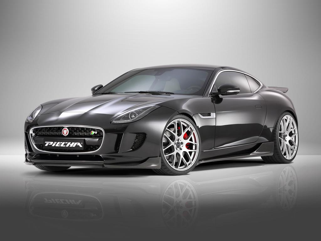 official jaguar f type r coupe by piecha design gtspirit. Black Bedroom Furniture Sets. Home Design Ideas