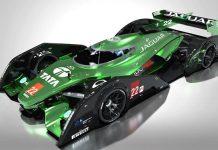 Jaguar Le Mans racer renderings