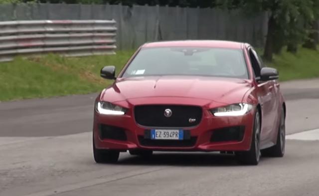 Jaguar XE S exhaust sounds