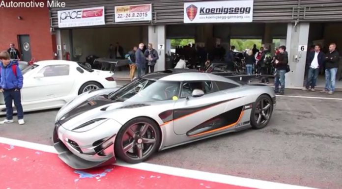 Video: Adrian Sutil Floors the Koenigsegg One:1 at Spa!