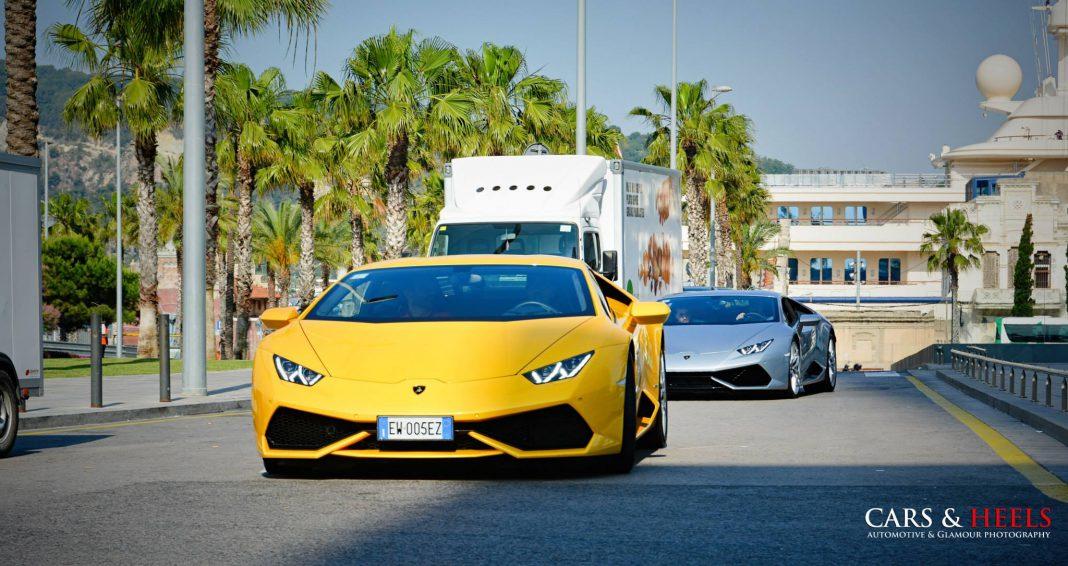 Lamborghini Huracan duo