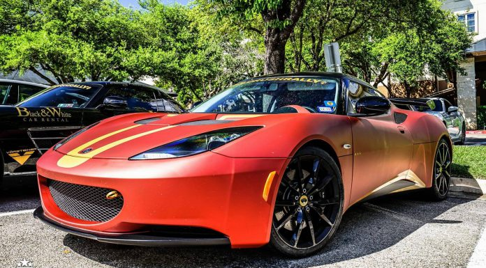 goldRush Rally 7 Lotus Evora