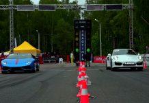Lamborghini Huracan vs Porsche 911 Turbo S drag race