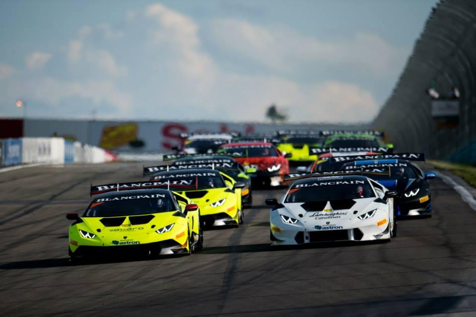 2015 Lamborghini Super Trofeo North America at Watkins Glen