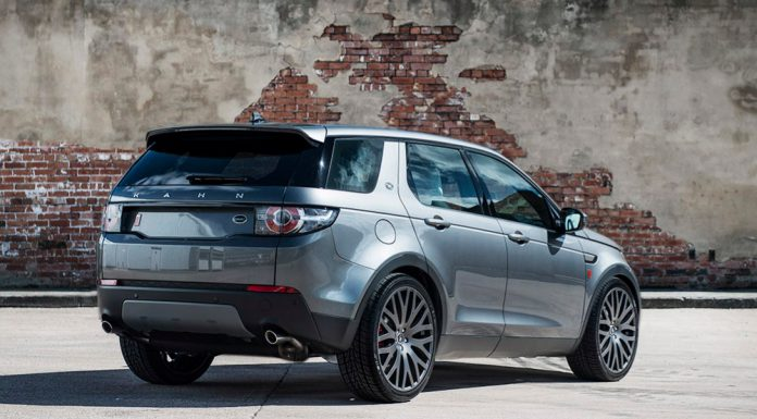 Kahn Design Land Rover Discovery Sport Rear view