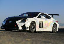 Lexus RC F GT Concept Pikes Peak front