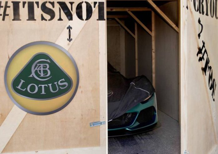 Lotus 3-Eleven teased before Goodwood 2015