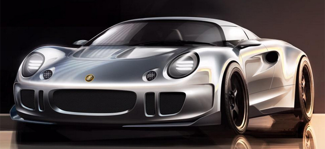 Julian Thomson designing super Lotus Elise front