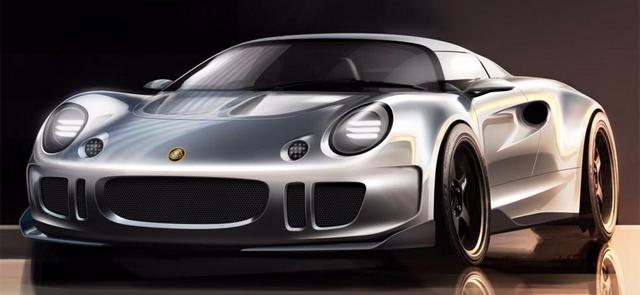 Julian Thomson designing super Lotus Elise front