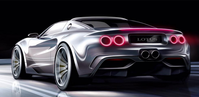 Julian Thomson designing super Lotus Elise rear