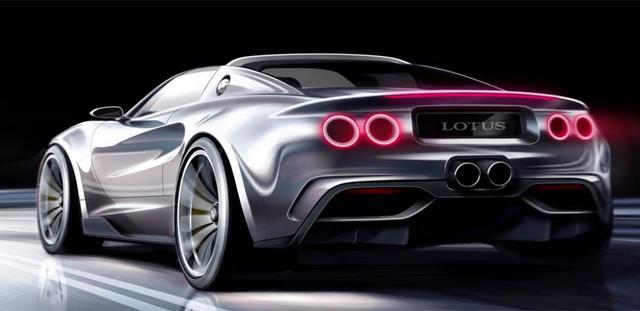 Julian Thomson designing super Lotus Elise rear