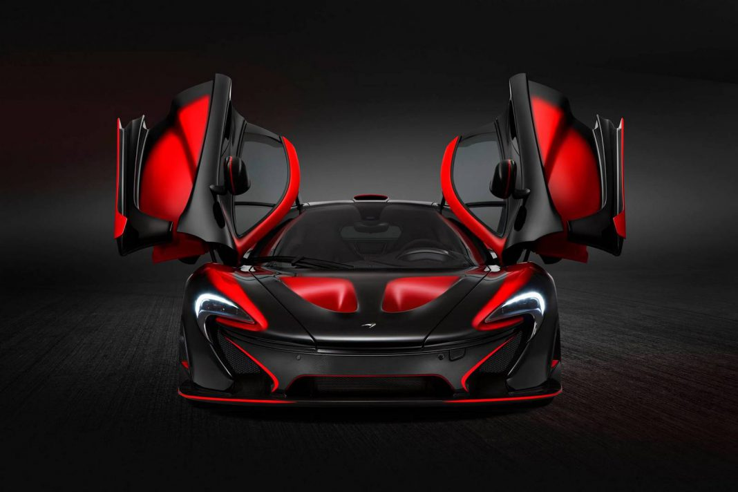 Red and Black McLaren P1 by MSO