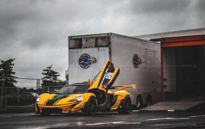 McLaren Celebrates 20th Anniversary Le Mans Win in Full Glamour