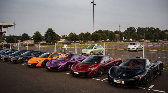 McLaren P1 Lineup