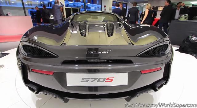 Hear the McLaren 570S