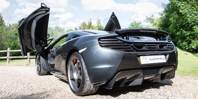 Rare McLaren 650S Le Mans for sale back