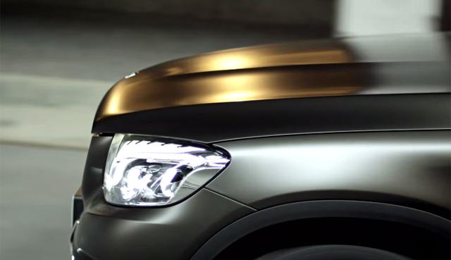 Mercedes-Benz GLC teased before reveal