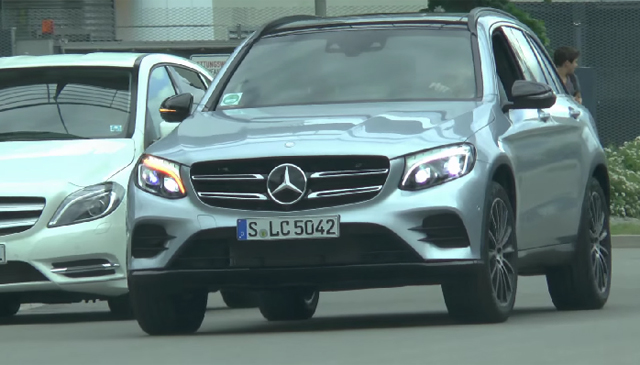 Mercedes-Benz GLC on the street