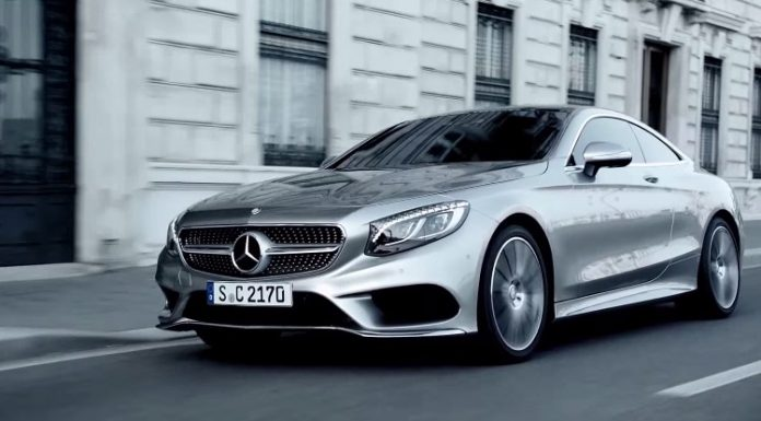 Mercedes-Benz S-Class Coupe trailer