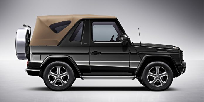 Mercedes-Benz considering new convertible SUV