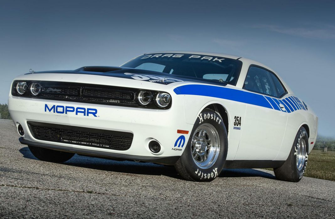 Mopar Dodge Challenger Drag Pak front