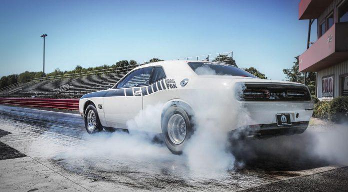 Mopar Dodge Challenger Drag Pak rear