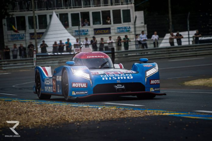 Nissan GT-R LM Nismo at Le Mans 2015
