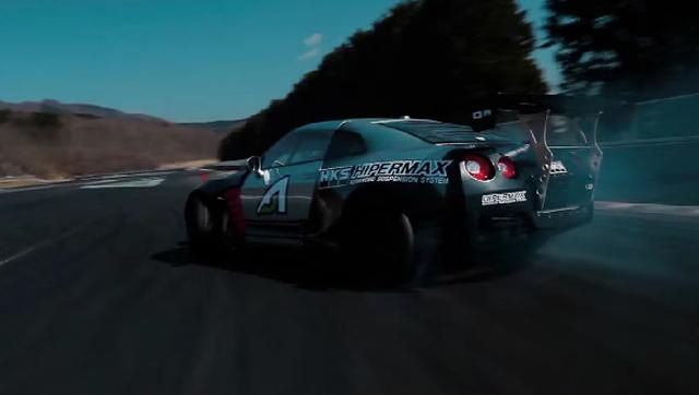 1000hp Nissan GT-R drifter