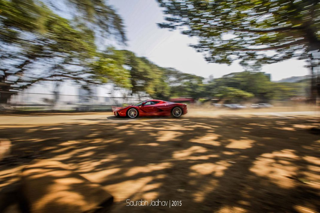 Supercars of Mumbai LaFerrari
