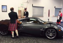 Pagani Huayra Scozia unveiled in the U.S