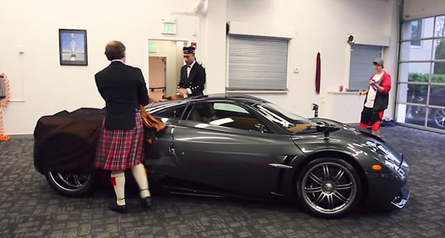Pagani Huayra Scozia unveiled in the U.S
